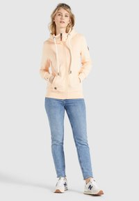 khujo - WANARI - Zip-up sweatshirt - apricot - 3