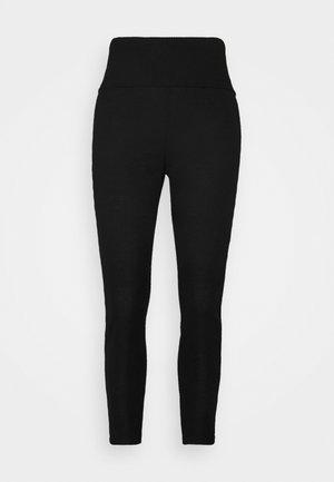 FOLDOVER  - Pyjama bottoms - true black