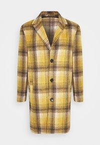 Mennace - MIX BOLD YELLOW CHECK  - Classic coat - yellow - 3