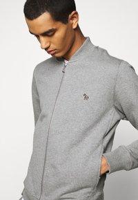 PS Paul Smith - MENS ZIP - Zip-up hoodie - mottled grey - 4