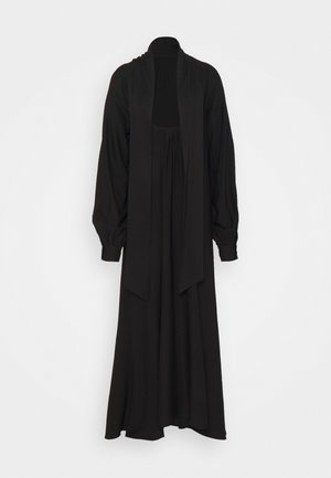 HIGH SLIT DRESS - Maksimekko - black