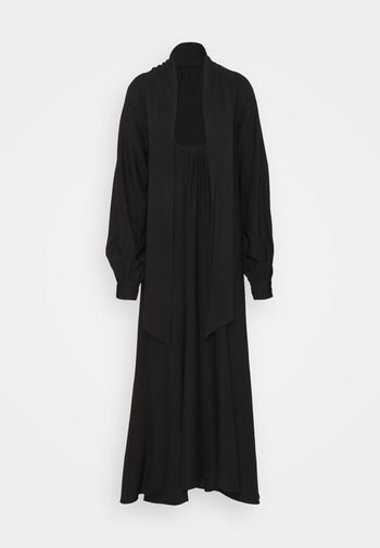 HIGH SLIT DRESS - Maxi dress - black
