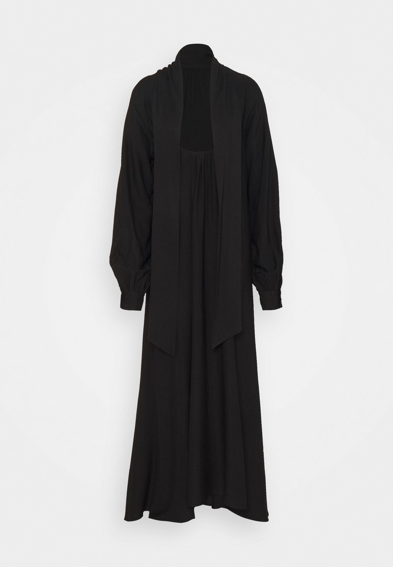 NA-KD - HIGH SLIT DRESS - Maxikjole - black