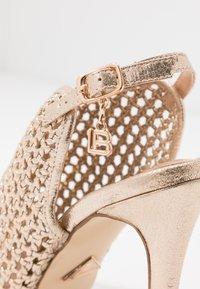 Laura Biagiotti - Sandaler med høye hæler - star light gold - 2