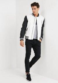Be Edgy - BESASCHA - Leather jacket - white/black - 1