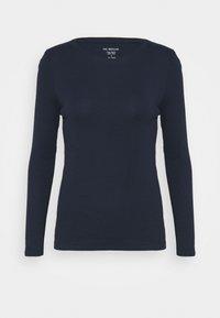 Marks & Spencer London - REGULAR CREW - Langarmshirt - dark blue - 0