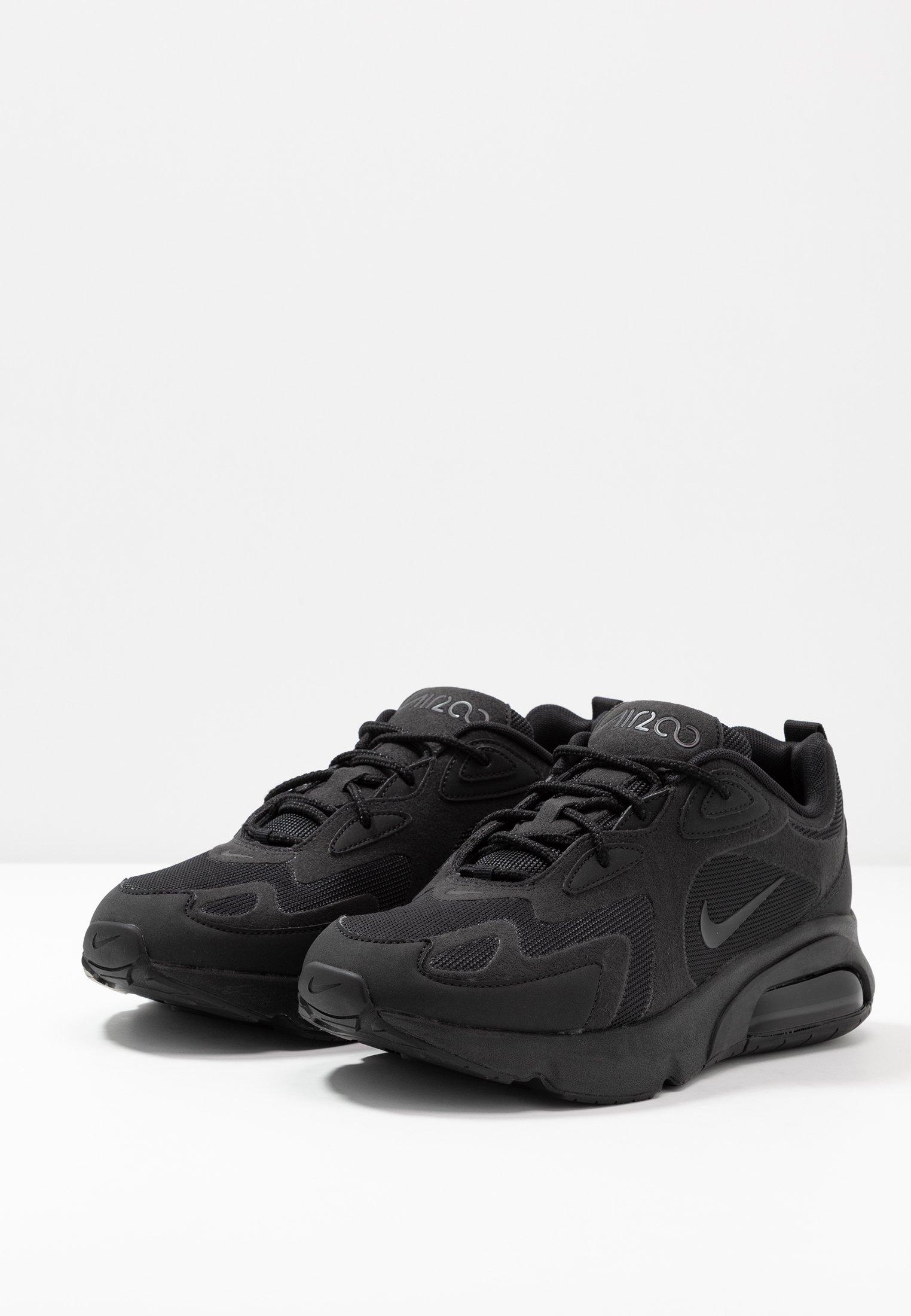 AIR MAX 200 - Sneakers laag - black