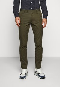 Polo Ralph Lauren - STRETCH SLIM FIT COTTON CHINO - Pantalon classique - expedition olive - 0
