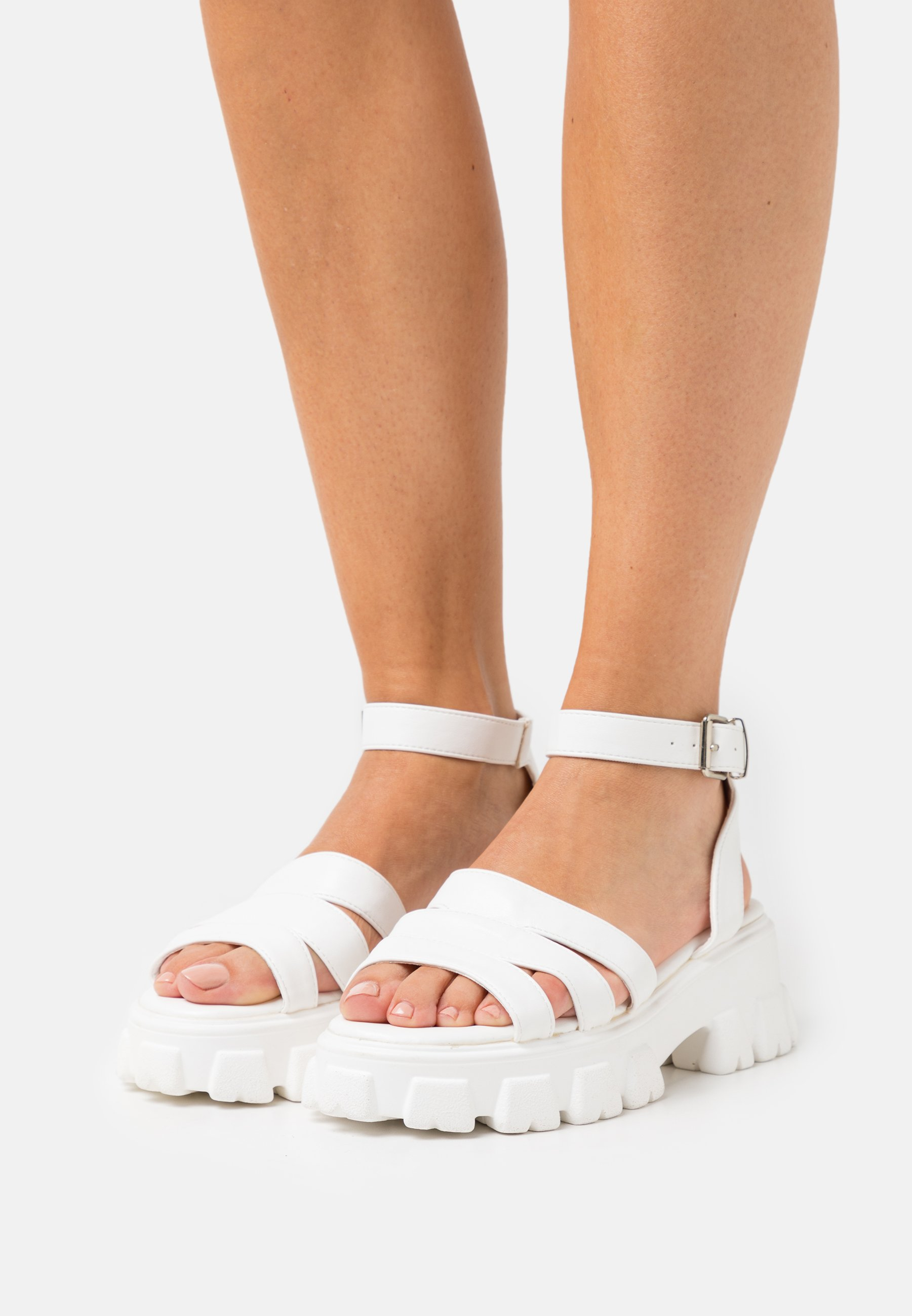 Women WIDE FIT HARMONIE - Platform sandals