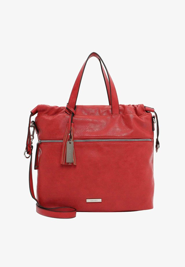 FRANZY - Shopping bag - red
