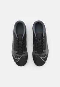 Nike Performance - MERCURIAL JR VAPOR 14 CLUB FG/MG UNISEX - Chaussures de foot à crampons - black/iron grey - 3