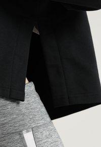 Puma - MODERN SPORTS HOODY - Felpa con cappuccio - black/white - 3