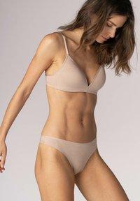 Mey - BI STRETCH BH SERIE EASY COTTON - Triangle bra - cream tan melange - 1