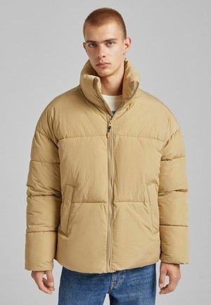 PUFF MIT TASCHEN - Winter jacket - sand