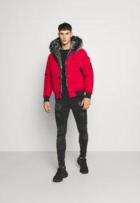 Glorious Gangsta - NAVIER - Zimní bunda - red - 1