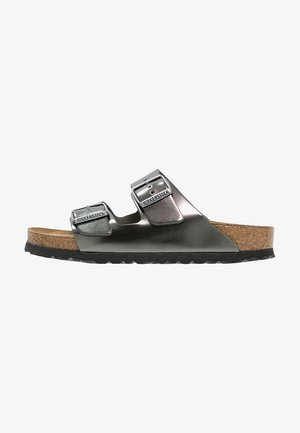 ARIZONA - Slippers - metallic anthracite