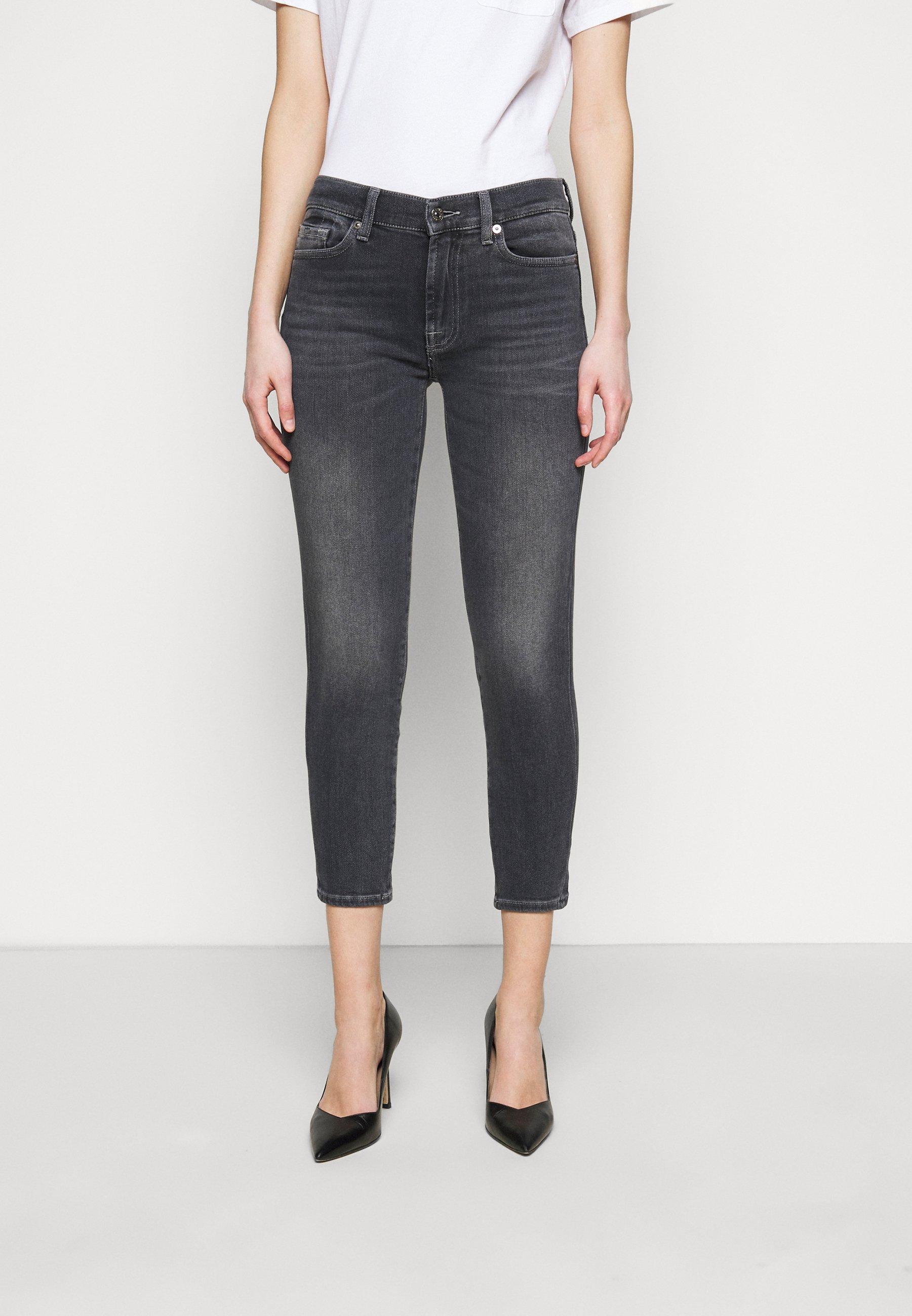 Women ROXANNE ANKLE LUXE VINTAGE MOONWALK - Jeans Skinny Fit