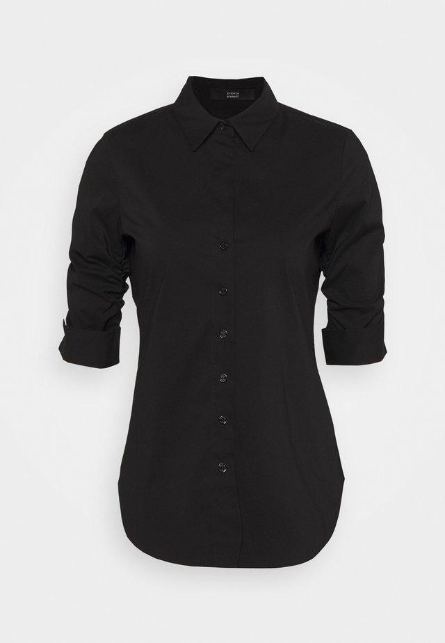 THE ESSENTIAL BLOUSE - Overhemdblouse - black