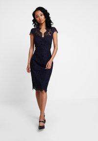 IVY & OAK - DRESS - Koktejlové šaty/ šaty na párty - navy blue - 1