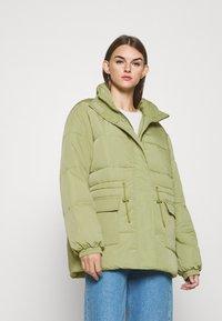 Moss Copenhagen - PETRINA JACKET - Winter jacket - sage - 0