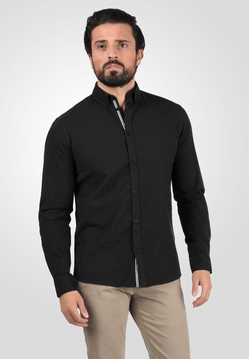 Solid - ALLI - Shirt - black