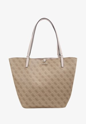 ALBY TOGGLE TOTE SET - Torba na zakupy - brown