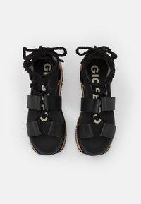 Gioseppo - Platform sandals - black - 5