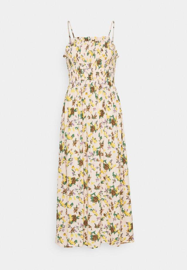 OBJFANNIE MIDI DRESS TALL - Day dress - bellini