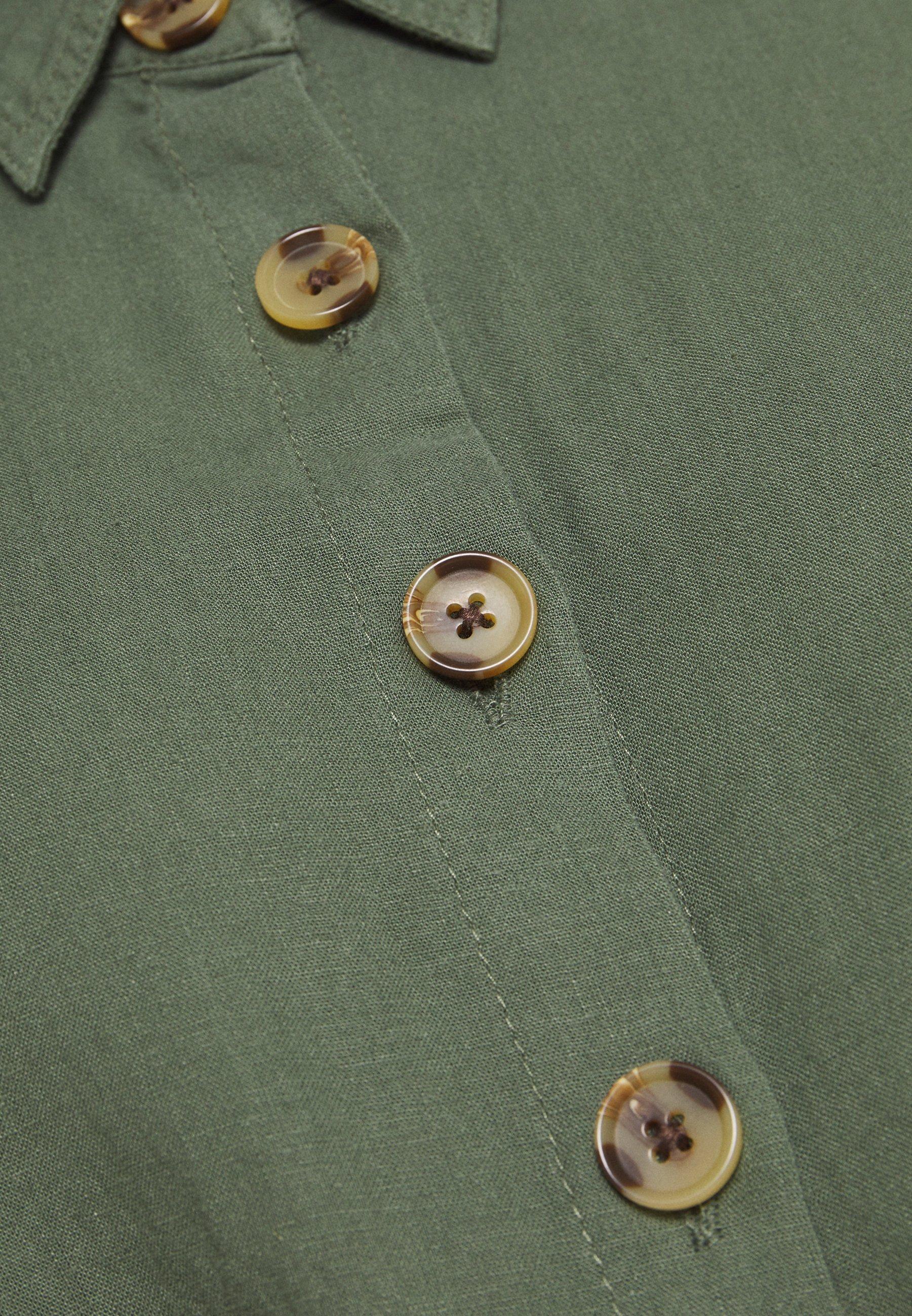 Mavi DRESS Blusenkleid thyme/dunkelgrün