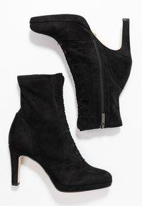 Tamaris - High heeled ankle boots - black - 3