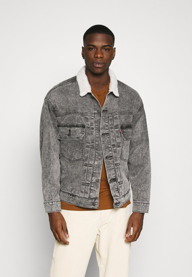 Levi's® - MODERN TYPE 2 TRUCKER - Cowboyjakker - grey denim