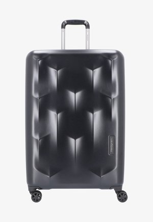EDGE CARVE - Wheeled suitcase - black