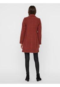 Vero Moda - Classic coat - mahogany - 2