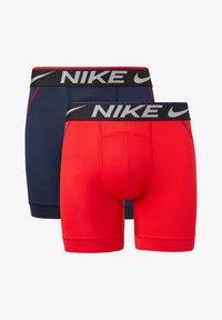 Nike Underwear - 2 PACK - Boxerky - university red / obsidian - 0