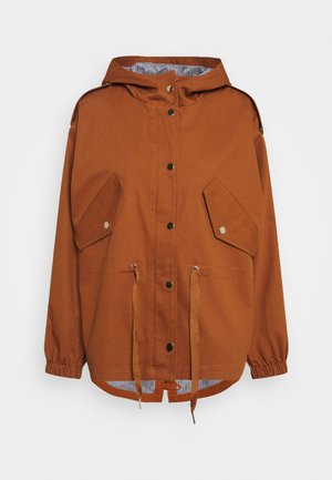 ESTHER JACKET - Parka - ginger bread