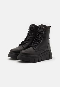 mtng - Lace-up ankle boots - black - 2