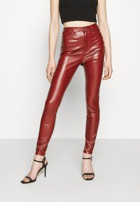 Missguided - TROUSER - Trousers - wine - 1