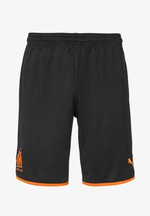 OLYMPIQUE MARSAILLE - Sports shorts - black-orange popsicle