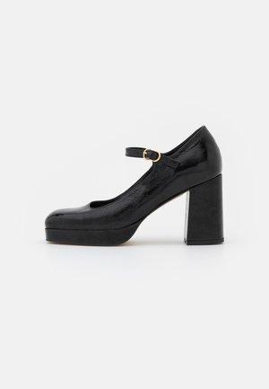 Scarpe con plateau - noir