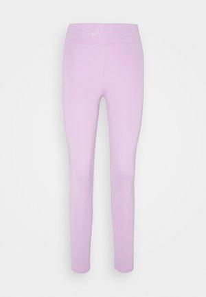HIGH WAIST LOGOTIGHTS - Legging - lilac