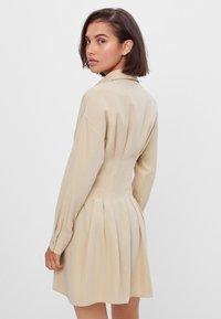 Bershka - Shirt dress - beige - 2