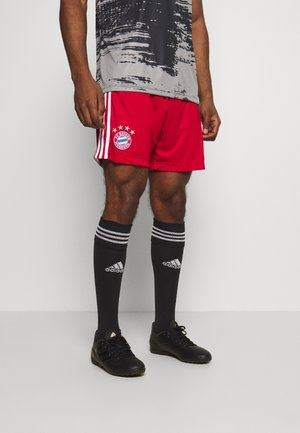 FC BAYERN MUENCHEN SPORTS FOOTBALL SHORTS - Pantalón corto de deporte - red