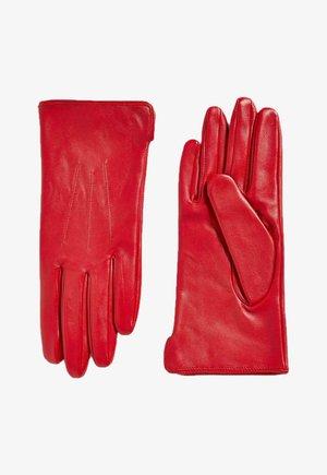 Gloves - red