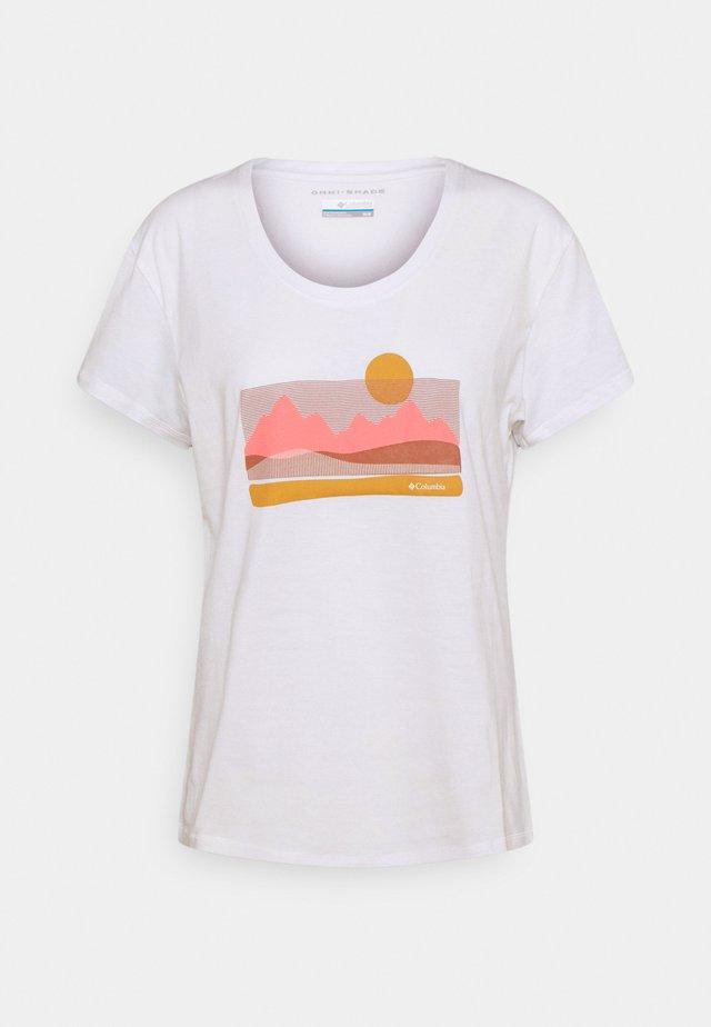 SUN TREK™ GRAPHIC TEE - T-shirt imprimé - white