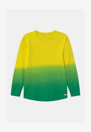 BOY TEXTURE - Long sleeved top - bright citron