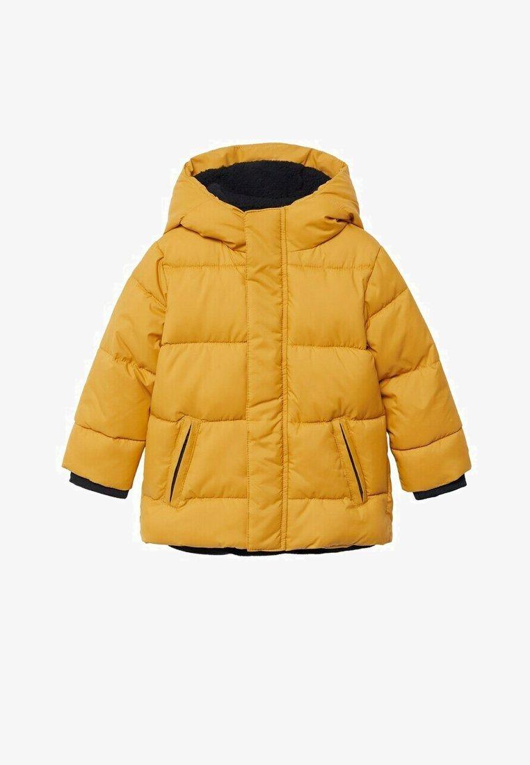 Mango - BROOKLYN - Zimní bunda - mosterd