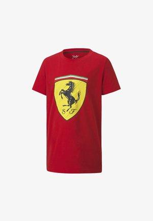 FERRARI  - Print T-shirt - rosso corsa