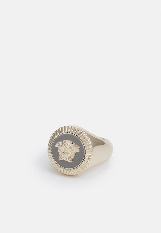 ROUND - Ring - palladio oro chiaro