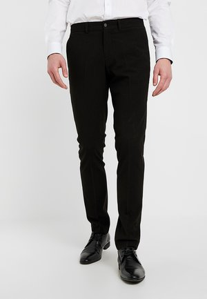 BASIC  - Trousers - black