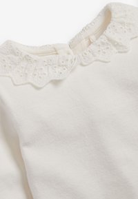 Next - BRUSHED BRODERIE COLLAR  - Longsleeve - off-white - 2
